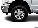 2011 Ram Trucks Ram 3500 Laramie, front drivers side wheel at profile.