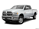 2011 Ram Trucks Ram 3500 Laramie, front angle medium view.