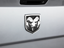 2011 Ram Trucks Ram 3500 Laramie, rear manufacture badge/emblem