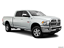 2011 Ram Trucks Ram 3500 Laramie, front passenger 3/4 w/ wheels turned.