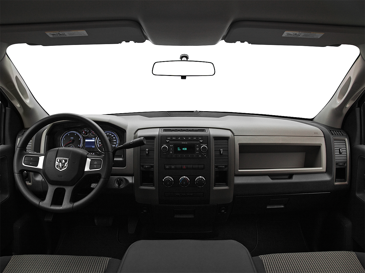 2011 Ram Trucks Ram 3500 DRW ST, centered wide dash shot