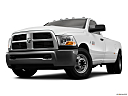 2011 Ram Trucks Ram 3500 DRW ST, front angle view, low wide perspective.