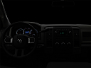 "2011 Ram Trucks Ram 3500 DRW ST, centered wide dash shot - ""night"" shot."