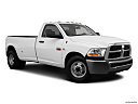 2011 Ram Trucks Ram 3500 DRW ST, front passenger 3/4 w/ wheels turned.
