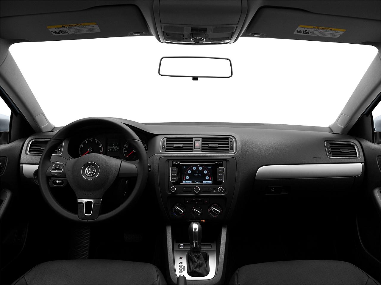2011 Volkswagen Jetta SEL, centered wide dash shot