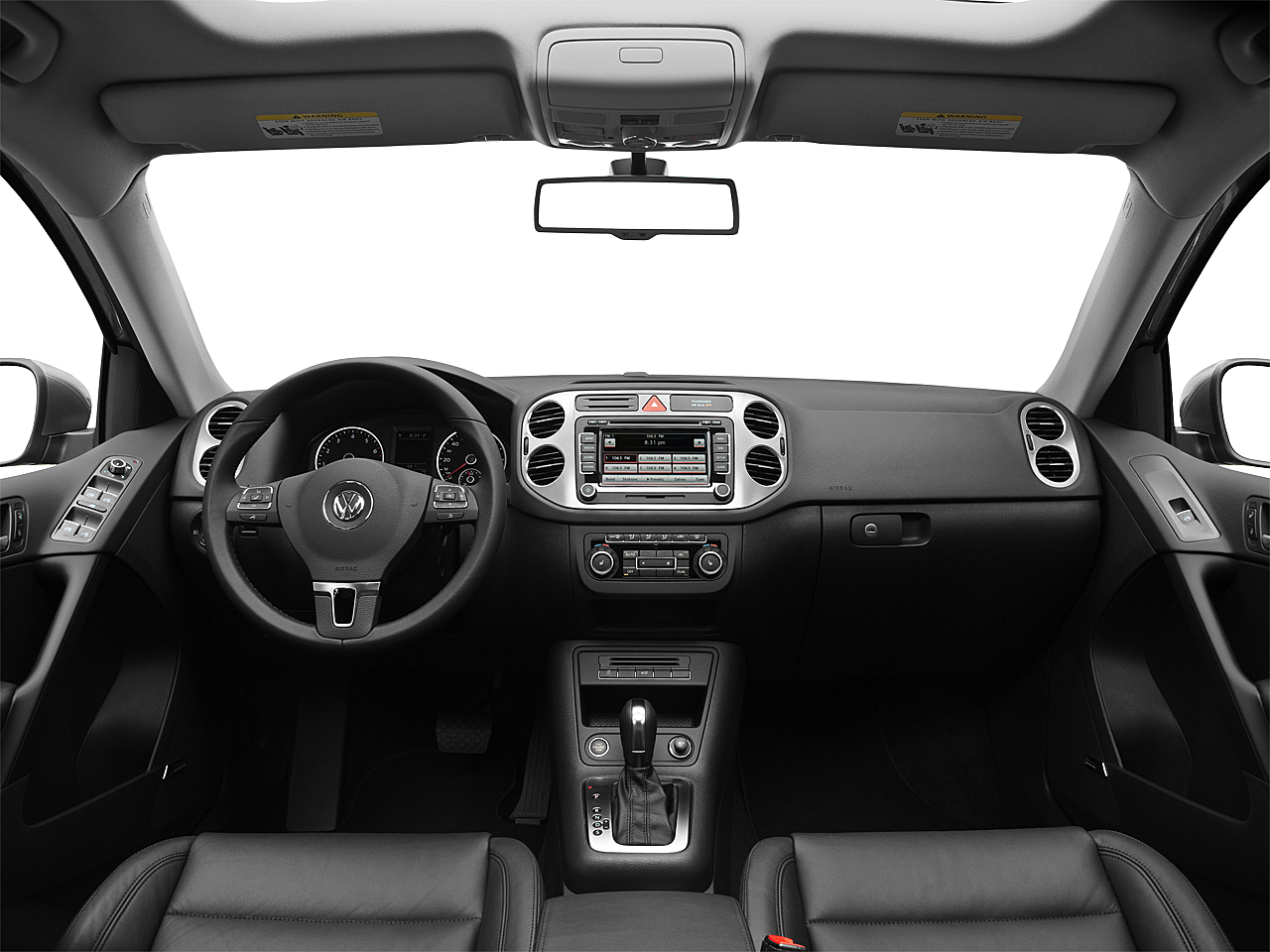 2011 Volkswagen Tiguan Sel 4motion 4dr Suv W Premium Navigation And Fuse Box Centered Wide Dash Shot