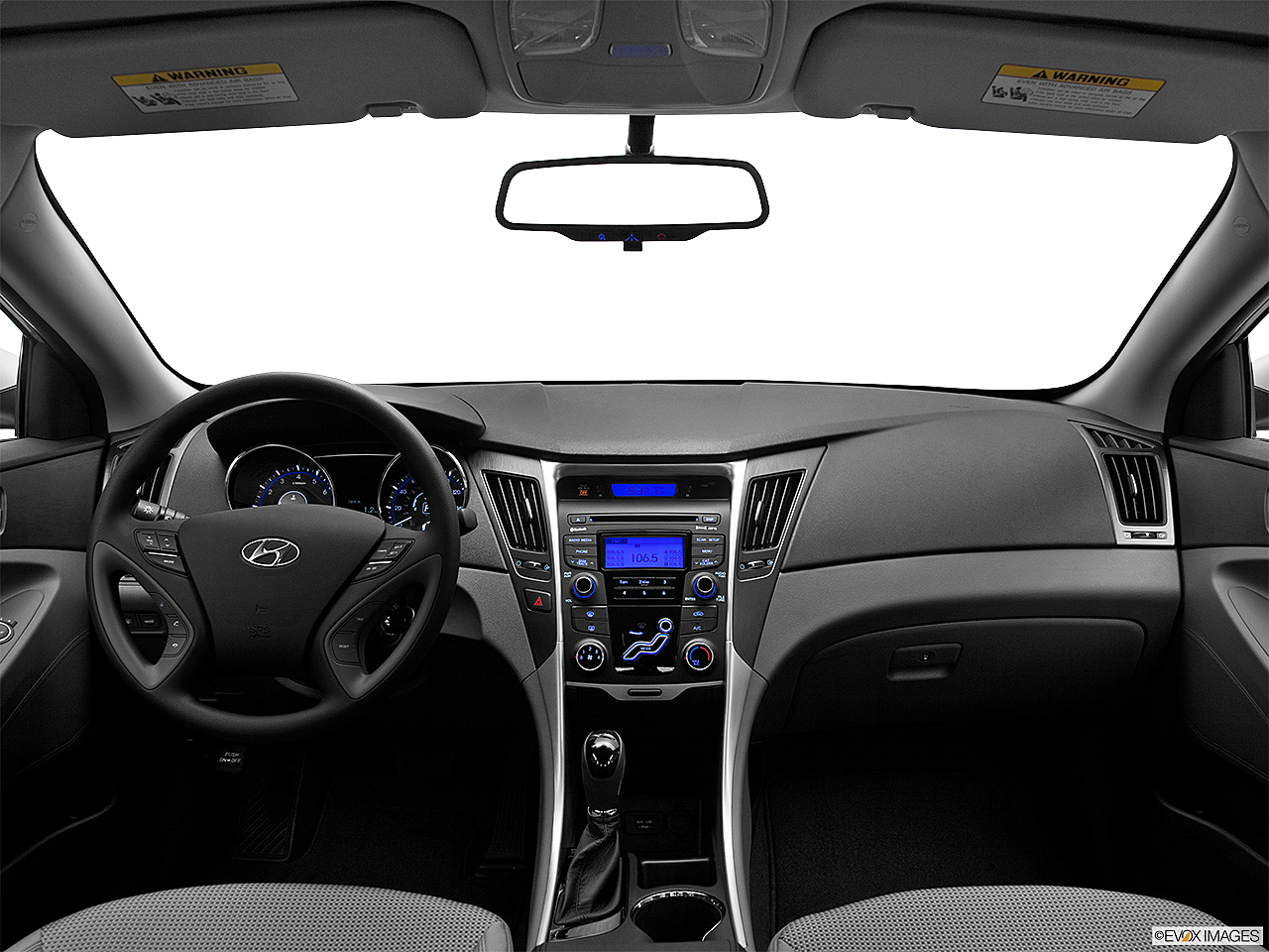 2012 Hyundai Sonata GLS Pzev, Centered Wide Dash Shot
