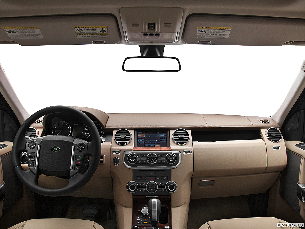 2012 Land Rover LR4, Centered Wide Dash Shot