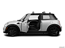 2012 Mini Cooper, driver's side profile with drivers side door open.
