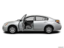 2012 Nissan Altima 2.5 S, driver's side profile with drivers side door open.