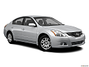 2012 Nissan Altima 2.5 S, front passenger 3/4 w/ wheels turned.
