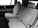 2012 Toyota Highlander, rear seats from drivers side.