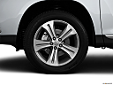 2012 Toyota Highlander Limited, front drivers side wheel at profile.