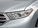 2012 Toyota Highlander Limited, drivers side headlight.
