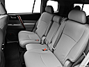 2012 Toyota Highlander Limited, rear seats from drivers side.