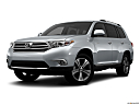 2012 Toyota Highlander Limited, front angle medium view.