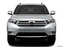 2012 Toyota Highlander Limited, low/wide front.