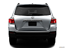 2012 Toyota Highlander Limited, low/wide rear.