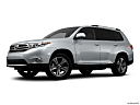 2012 Toyota Highlander Limited, low/wide front 5/8.