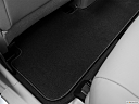 2012 Toyota Highlander Limited, rear driver's side floor mat. mid-seat level from outside looking in.