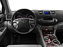 2012 Toyota Highlander Limited, steering wheel/center console.