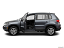 2012 Volkswagen Tiguan S, driver's side profile with drivers side door open.