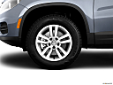2012 Volkswagen Tiguan S, front drivers side wheel at profile.