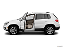 2012 Volkswagen Tiguan SE w/Sunroof and Nav, driver's side profile with drivers side door open.