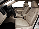 2012 Volkswagen Tiguan SE w/Sunroof and Nav, front seats from drivers side.