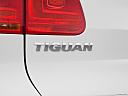 2012 Volkswagen Tiguan SE w/Sunroof and Nav, rear model badge/emblem