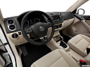 2012 Volkswagen Tiguan SE w/Sunroof and Nav, interior hero (driver's side).