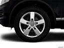 2012 Volkswagen Touareg TDI Lux, front drivers side wheel at profile.