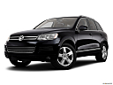 2012 Volkswagen Touareg TDI Lux, front angle medium view.