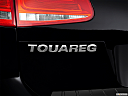 2012 Volkswagen Touareg TDI Lux, rear model badge/emblem