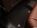 2012 Volkswagen Touareg TDI Lux, rear driver's side floor mat. mid-seat level from outside looking in.