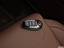 2012 Volkswagen Touareg TDI Lux, key fob on driver's seat.