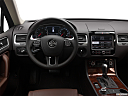 2012 Volkswagen Touareg TDI Lux, steering wheel/center console.