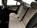 2012 Volvo S60 T5 SR, rear seats from drivers side.