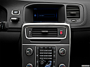 2012 Volvo S60 T5 SR, closeup of radio head unit