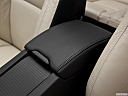 2012 Volvo S60 T5 SR, front center console with closed lid, from driver's side looking down