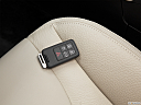 2012 Volvo S60 T5 SR, key fob on driver's seat.