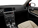 2012 Volvo S60 T5 SR, center console/passenger side.