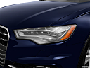 2013 Audi S6 4.0TFSI Seven-speed S Tronic transmission, drivers side headlight.