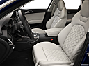 2013 Audi S6 4.0TFSI Seven-speed S Tronic transmission, front seats from drivers side.