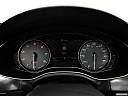 2013 Audi S6 4.0TFSI Seven-speed S Tronic transmission, speedometer/tachometer.