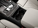 2013 Audi S6 4.0TFSI Seven-speed S Tronic transmission, cup holders.