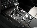 2013 Audi S6 4.0TFSI Seven-speed S Tronic transmission, gear shifter/center console.