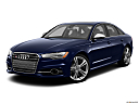 2013 Audi S6 4.0TFSI Seven-speed S Tronic transmission, front angle medium view.