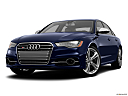 2013 Audi S6 4.0TFSI Seven-speed S Tronic transmission, front angle view, low wide perspective.