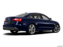 2013 Audi S6 4.0TFSI Seven-speed S Tronic transmission, low/wide rear 5/8.